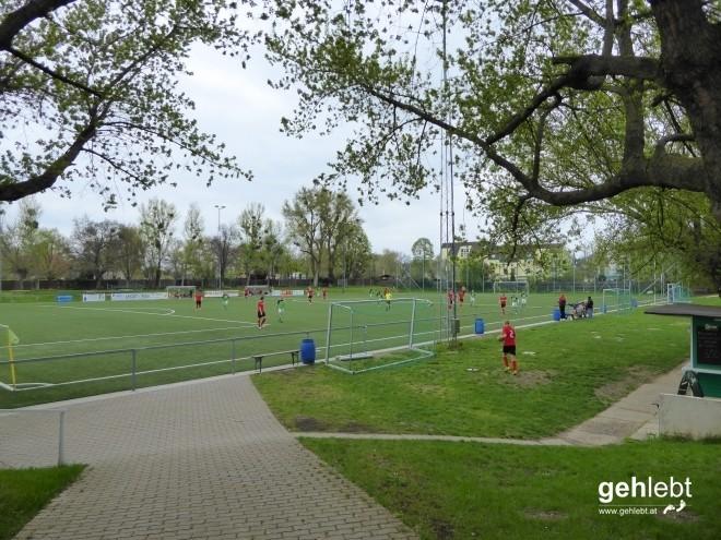 Ein Fußballspiel ist noch ein richtiges Fußballspiel, wenn du dir den Ball selbst holen musst.