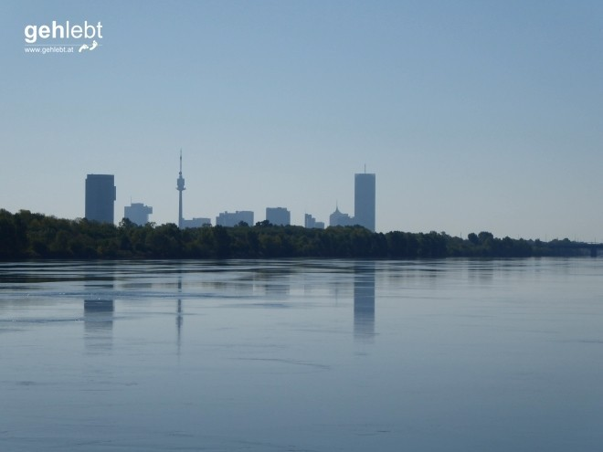 Donaucity-Silhouette in Bestform.
