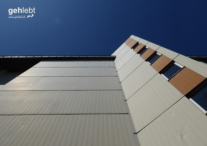 Fassadenarchitektur der besonderen Art.