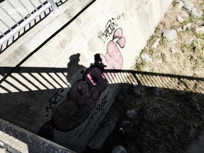 Schattenspiele am Brückenwirt.