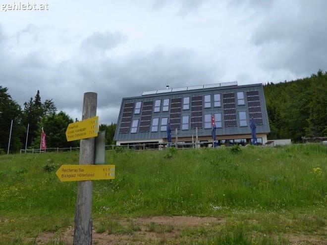 Naturfreundehaus Knofeleben - bei Ruhetag.