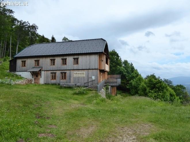 Waldburgangerhütte - bei, genau, Ruhetag.