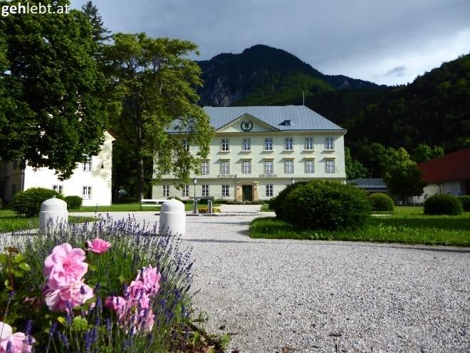 Blumiges Schloss Reichenau.