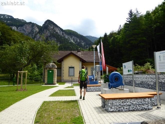 Streifzug durch das Outdoor-Areal im Wasserleitungsmuseum Kaiserbrunn.
