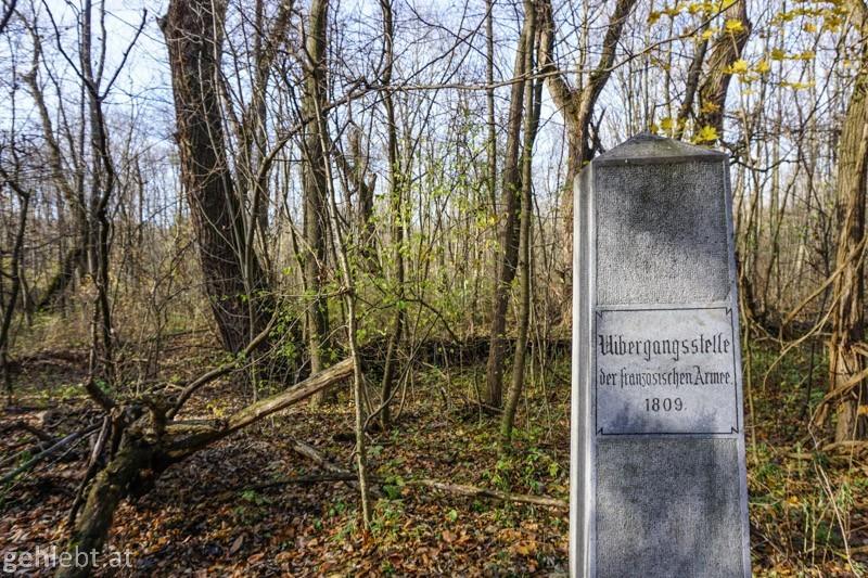Napoleon-Rundwanderweg Lobau Wien
