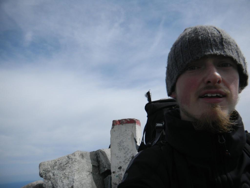 am polnischen Gipfel des Rysy auf 2499m